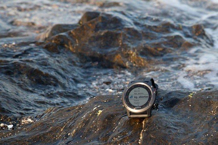 Garmin Fenix 3 - Natación en aguas abiertas
