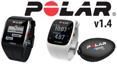 Polar Upgrades for V800, M400 and Flow 1