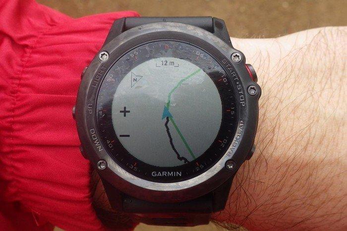 Garmin Fenix 3 - Navegación con mapa