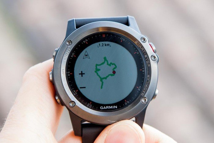 Garmin Fenix 3 - Mapa de navegación