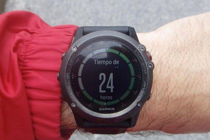 Garmin Fenix 3 - Tiempo de recuperación