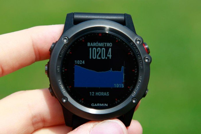 Garmin Fenix3 - Barómetro