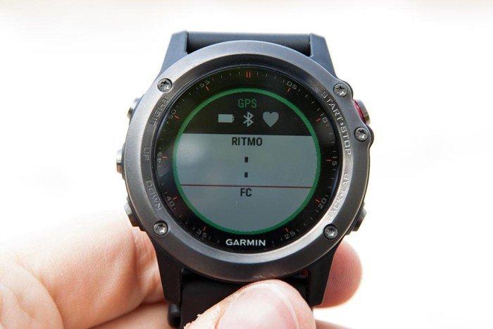 Garmin Fenix 3 - búsqueda de satélites