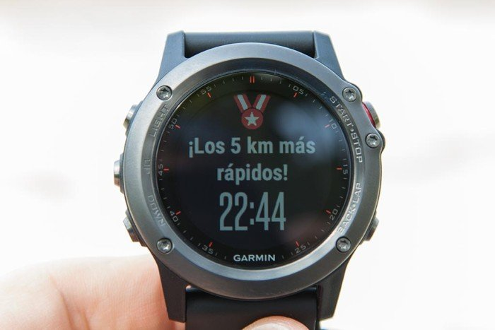 Garmin Fenix 3 - record