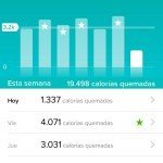 Fitbit Charge HR - Información aplicación