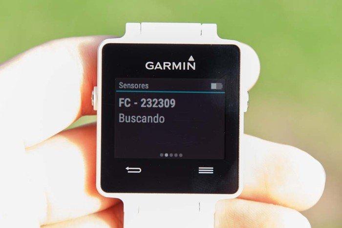 Garmin Vivoactive - Sensores