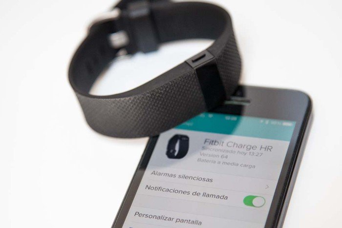 Fitbit Charge HR - Notificación activada