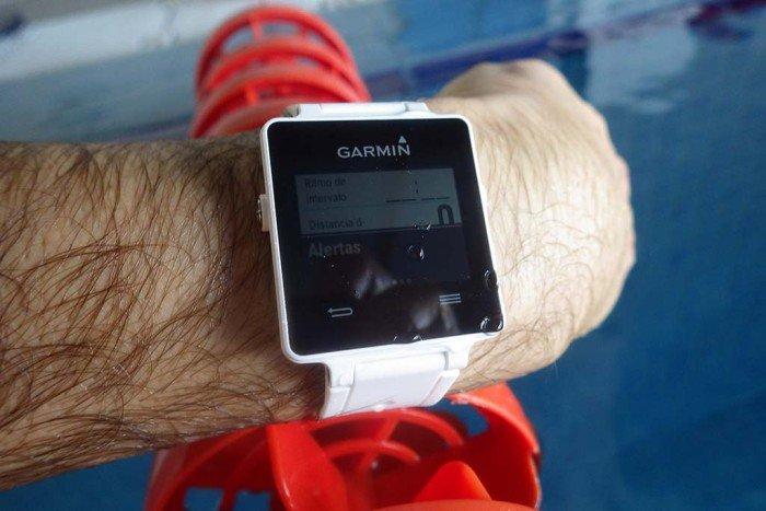 Garmin Vivoactive - Alertas natación