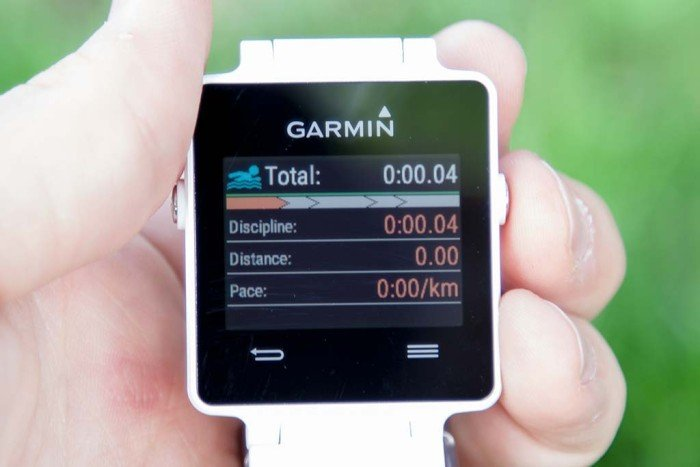 Garmin Vivoactive - App triatlón