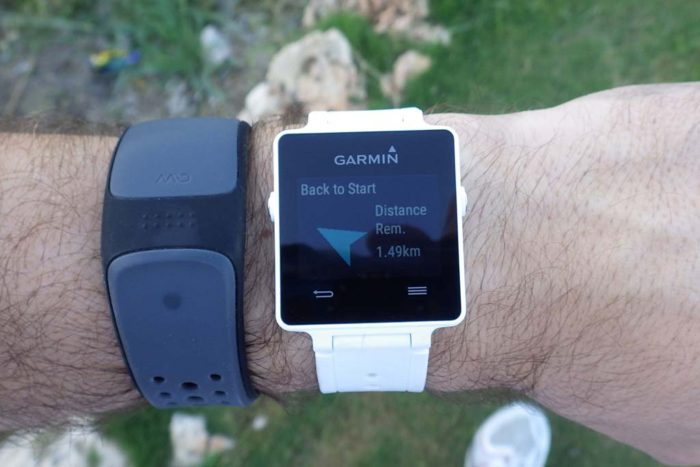Garmin Vivoactive - Back to Start