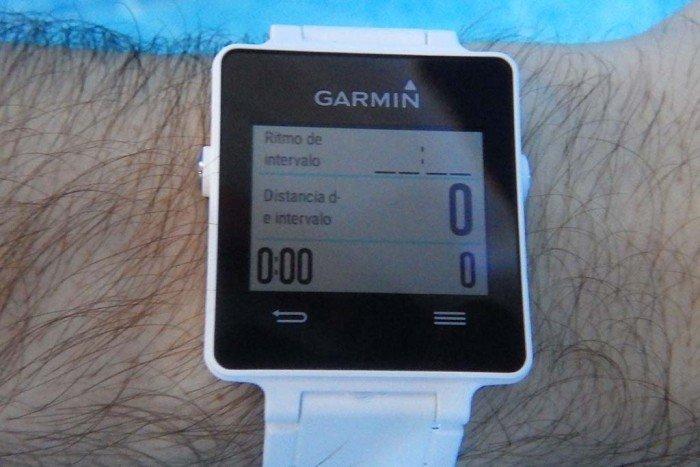 Garmin Vivoactive - Configuración pantallas de natación