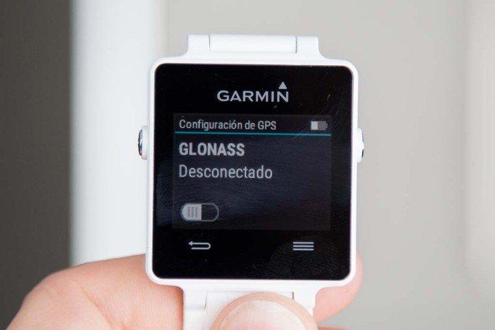 Garmin Vivoactive - GLONASS desactivado