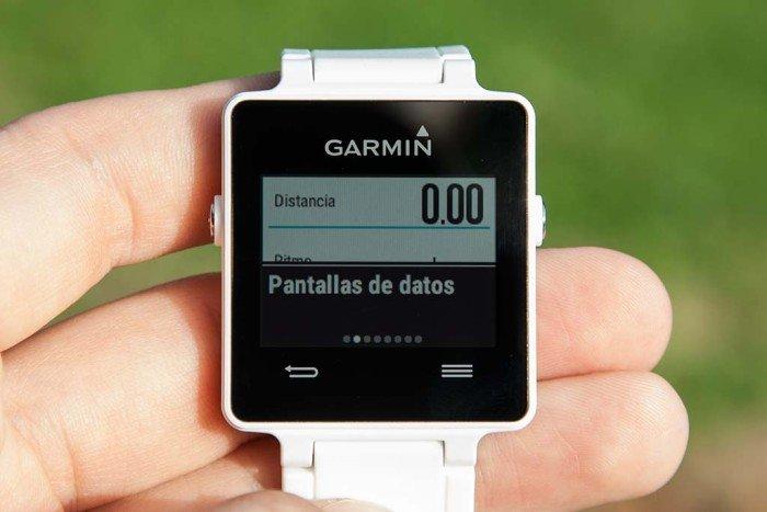 Garmin VIvoactive - Menú configuración
