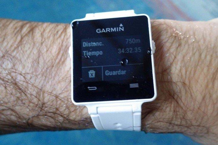 Garmin Vivoactive - Terminar natación