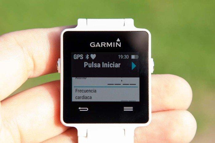 Garmin Vivoactive - Presionar Start
