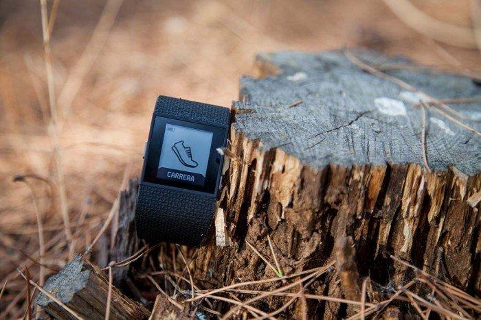 Fitbit Surge - Carrera