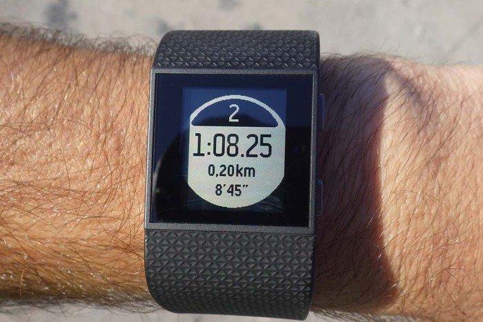 Fitbit Surge - Lap Marcado