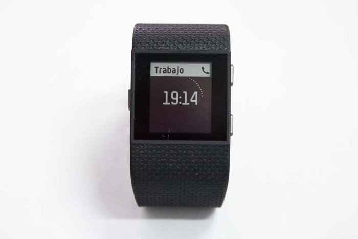 Fitbit Surge - Call Notification