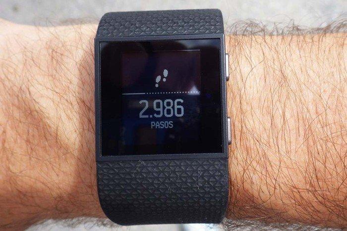 Fitbit Surge - Widget pasos