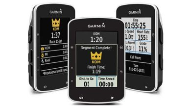 New Garmin Edge 520 with Strava sectors live 3