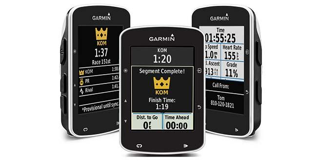 New Garmin Edge 520 with Strava sectors live 1