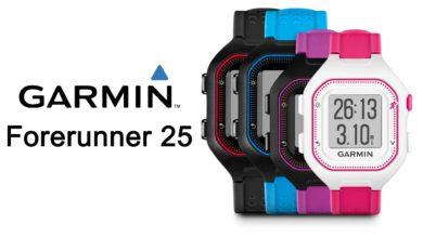 Foto de Garmin Forerunner 25. Garmin renueva el modelo de acceso a la gama