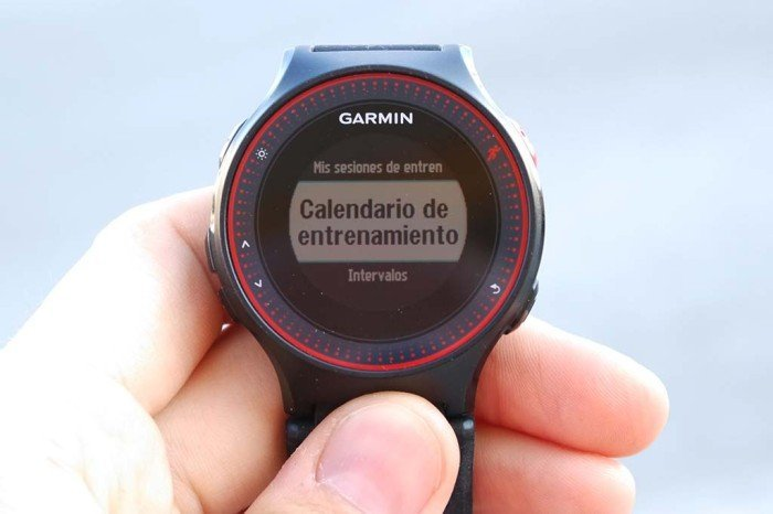 Garmin 225 - Training Calendar