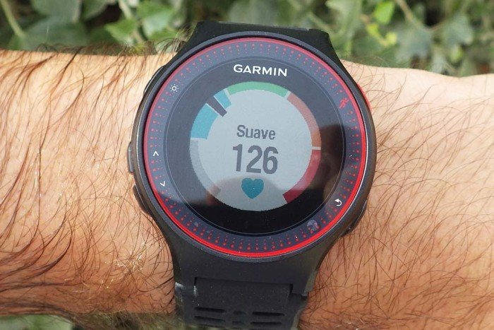 Garmin Forerunner 225 - Heart Rate Display