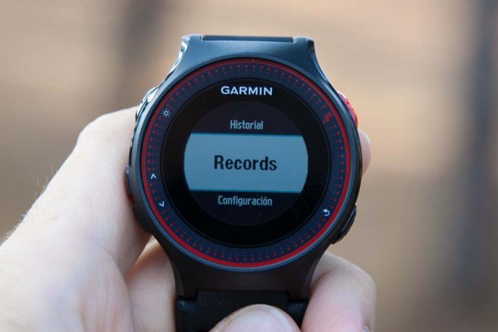 Garmin Forerunner 225 - Records personales