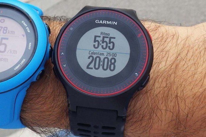 Garmin Forerunner 225 - Training Session