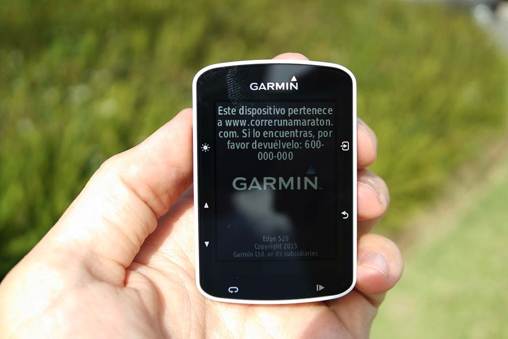 How to display your name and phone number on your Garmin Edge 1