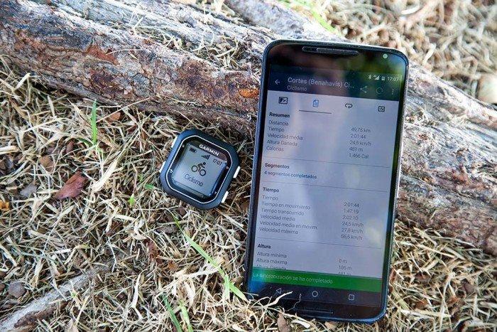Garmin Edge 25 - Conexión con móvil
