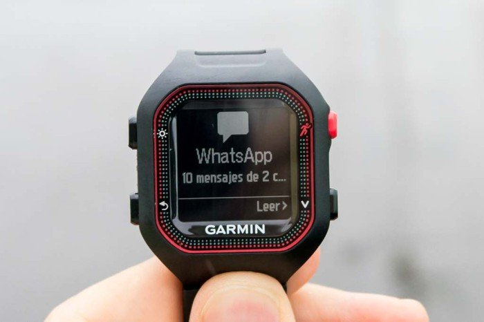 Garmin Forerunner 25 - notificación