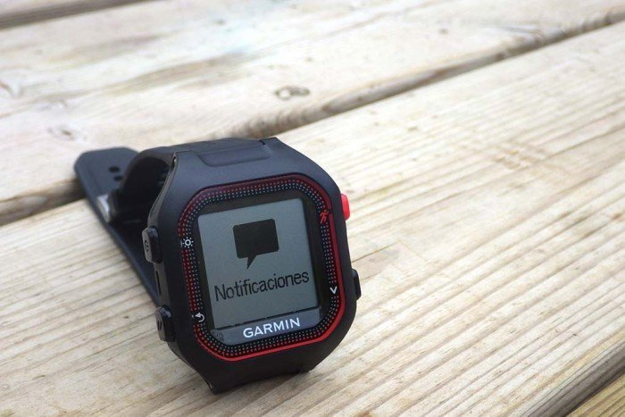 Garmin Forerunner 25 - Notificaciones