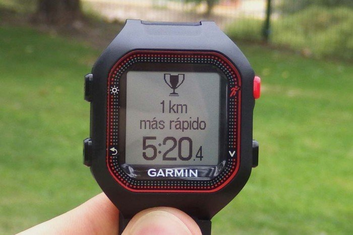Garmin Forerunner 25 - Records