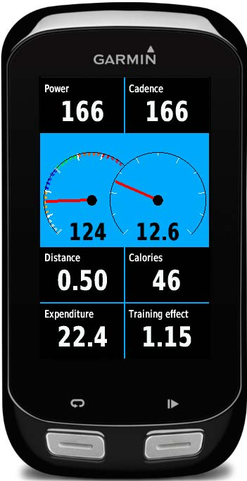 Connect IQ Garmin Edge