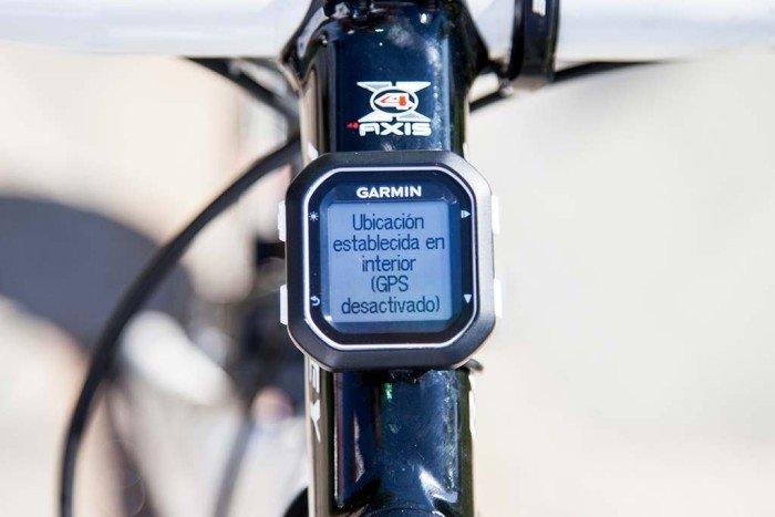 Garmin Edge 25 - GPS desactivado
