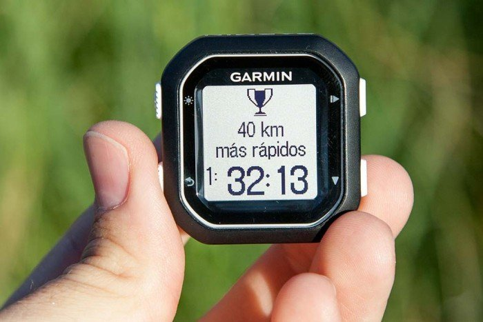 Garmin Edge 25 - Record