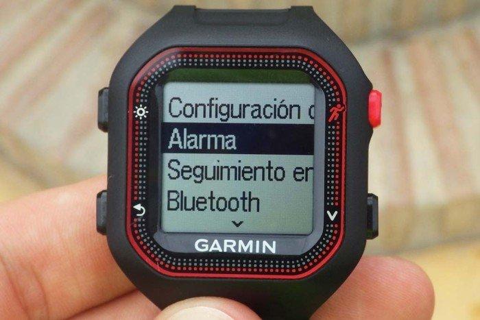 Garmin Forerunner 25 - Alarma