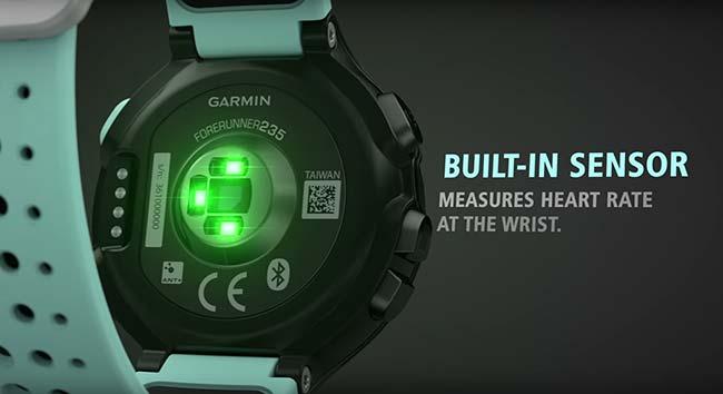 Garmin Forerunner 235 - Sensor