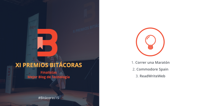 Finalists Bitácoras Awards