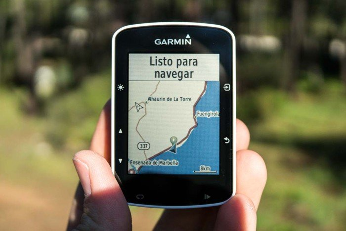 Garmin Edge 520 - Mapa por defecto