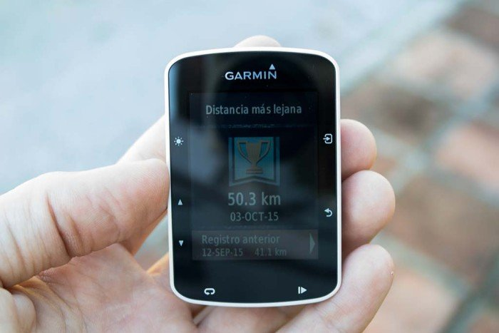 Garmin Edge 520 - Record personales
