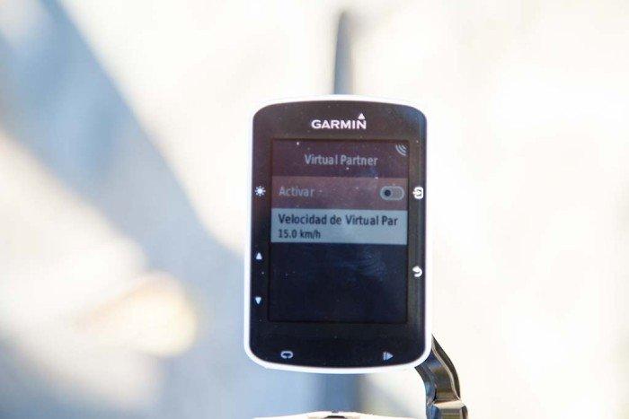 Garmin Edge 520 - Virtual Partner