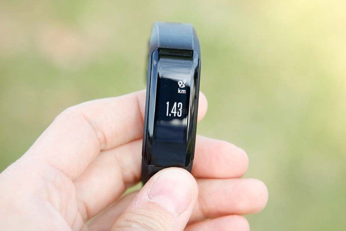 Garmin Vivosmart HR - Distancia