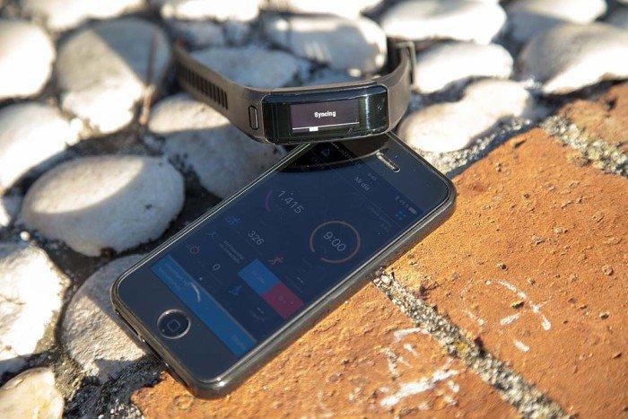 Garmin Vivosmart HR - Sincronización móvil