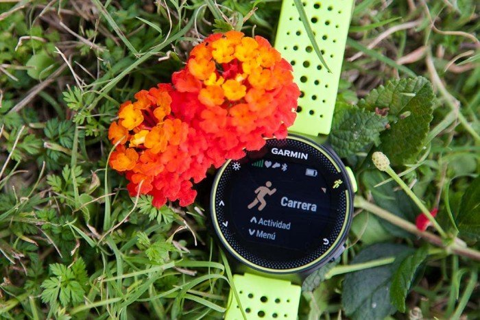 Garmin Forerunner 230 - Menu access