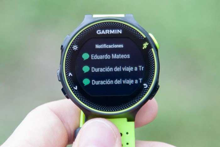 Garmin Forerunner 230 - Notifications