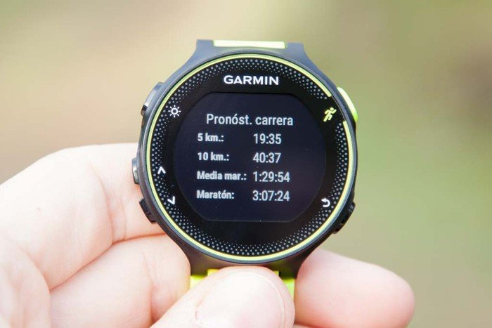 Garmin Forerunner 230 - Pronóstico de carrera