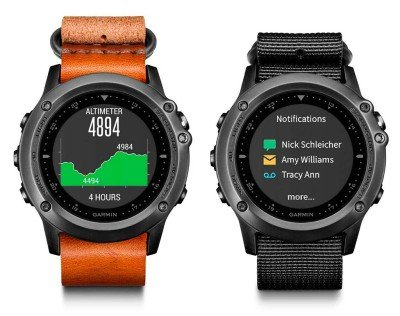 Garmin Fenix 3 Leather Nylon